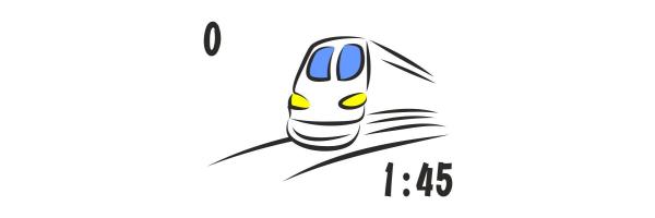 1:45 - Spur 0 / 0e