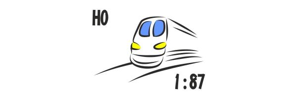 1:87 - Spur H0, H0e