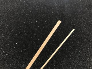 Lindenholzleiste 1,0 x 3,0 x 1000mm