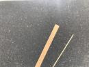 Nussholzleiste 0,6 x 5,0 x 1000mm