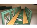 Eisenbahnbrücke H0 / 9 Elemente, schräg links,...