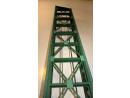 Eisenbahnbrücke H0 / 9 Elemente, schräg links, eingleisig