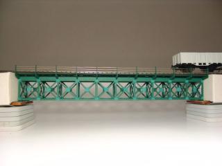 Eisenbahnbrücke mit Untergurt H0 / 10 Elemente, eingleisig