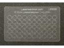 Loklaternenscheiben 3,2mm Durchmesser aus Acrylglas - 50 Stk