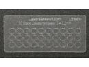 Loklaternenscheiben 3,2mm Durchmesser aus Acrylglas - 30 Stk