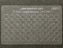 Loklaternenscheiben 3,4mm Durchmesser aus Acrylglas - 50 Stk