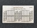 Holztreppe Typ3 H0 / H0e