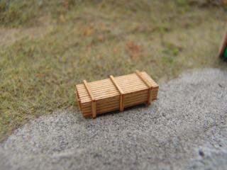 Holzkiste N, detailliert