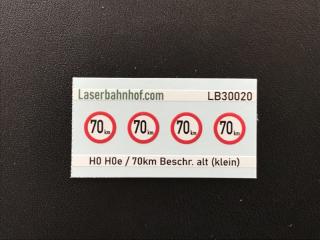 Geschwindigkeitsbeschränkung 70km alt klein - 5,6mm