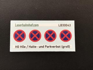 Halte und Parkverbot groß - 7,8mm