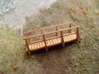 Holzbrücke, H0 / H0e